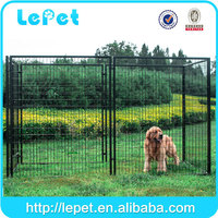 Wholesale heavy duty large outdoor galvanized steel dog kennel