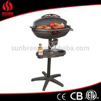 CE/EMC/LVD/ERP certification die-casting griddle pan, pancake griddle, half griddle and half grill