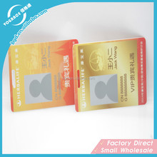 Factory Direct Supply Fashional Cute PVC Plastic Card