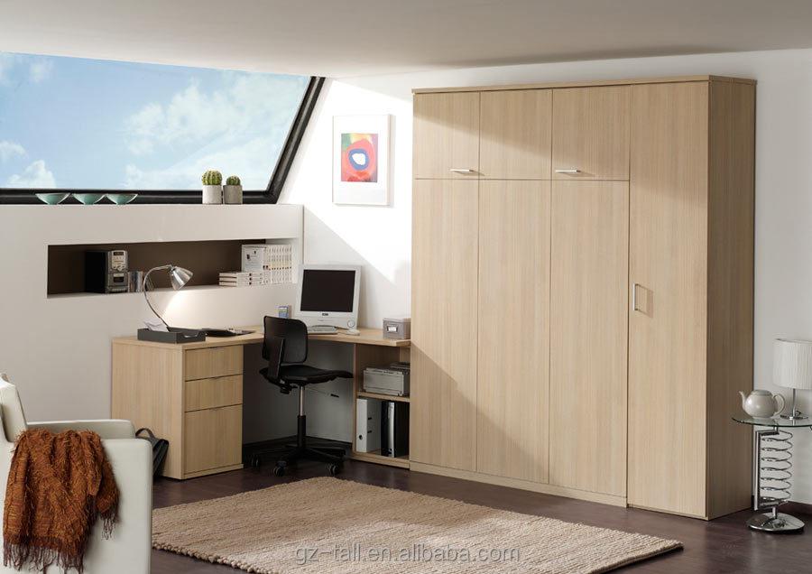 혁신적인 공간 절약 가구 목재 현대 접이식 벽 침대-침대 -상품 ID ...