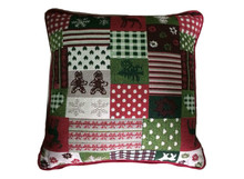 hot sale down & feather Xmas Jacquard sofa Cushion/decorative cushion MS-203