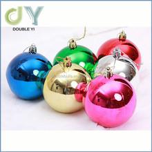 China manufacturer wholesale shatterproof plastic decorating Christmas balls set