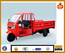 Gasoline motorized 300cc truck tricycle for heavy loading