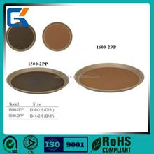 High quality round restaurant service trays or plate