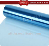 window insulation film in blue color in good quality to protect your car and your house window