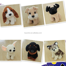 Chinese toy manufacturers direct custom plush stuffed toy, and wholesale cute dogs,stuffed toy