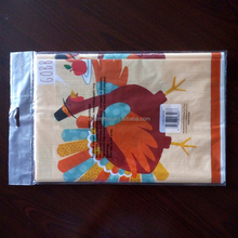 Color Table Cloth Plastic Table Cover Thanksgiving turkey Party Supply