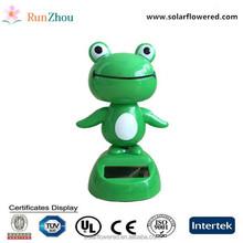 Solar doll swing car accessories, Solar frog