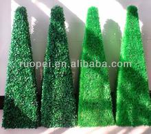 artificiale decorativo bosso albero arte topiaria impianto di erba