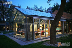Decorative Glass House/Sun Room /Winter Garden from China GM-ZS002