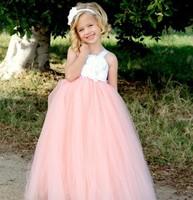 lovely pink flower girl dresses teen girls dance wear