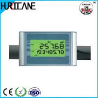 Liquid water flow metering gauges
