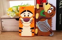 2015 hot sale design style Soft Silicon 3d cartoon phone case For Apple iphone 6