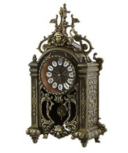 china grandfather clocks metal brass antique skeleton clock