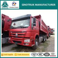 Top quality SINOTRUK HOWO 35-50 ton dump truck for sale in dubai