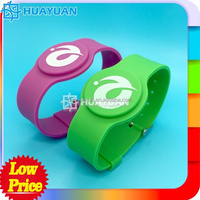 China's biggest manufacturer of NFC rfid silicon wristband