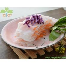 Poche calorie tagliatelle shirataki, konjac lasagne. Alimentare dimagrante