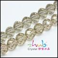 con encanto de vidrio de cristal de murano en espiral piedras sueltas