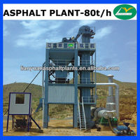 Grateful used asphalt plant for sale with capacity 80t per hour in Malaysia