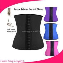 wholesale faja latex training corset steel bone