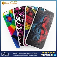 [NP-2269] OEM Color Print 3D Colorful Frosted Case for Apple for iPhone 6