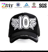 2015 New Fashion Hot Sale Unisex Mesh Trucker Hat / Mesh Snapback Hat Cap Black / Blue 5 Panel Hats and Caps Made in China