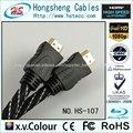 3d estándar hdmi con cable ethernet ergonómico moldeo tipo de cable hdmi