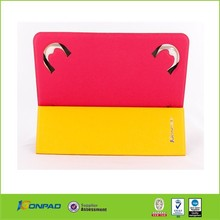 double use Stand 9 to 10 inch universal leather tablet case