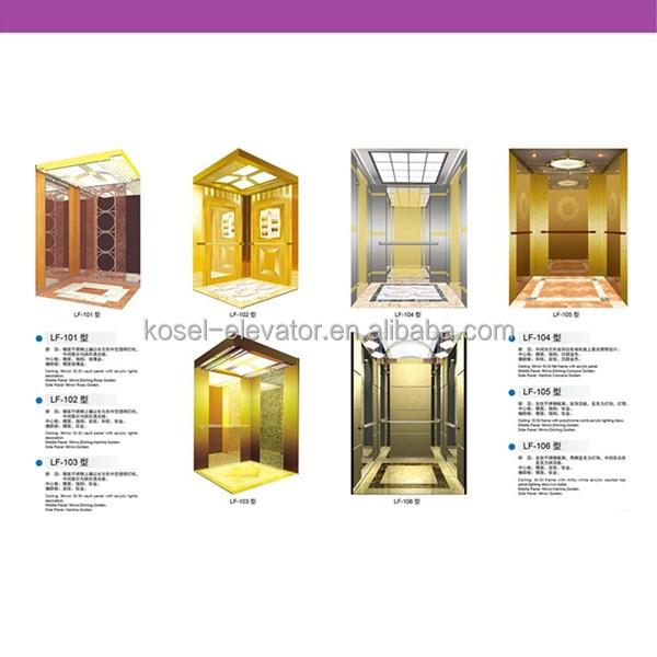 Passenger elevator cabin lift cabin design elevator cabin Elevator cabin design