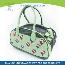 Lovoyager Neoprene wholesale pet carrier green color