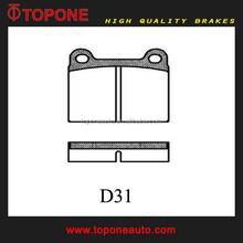 Automotive Disc Brake Pad D31 For Mercedes Benz / Volvo