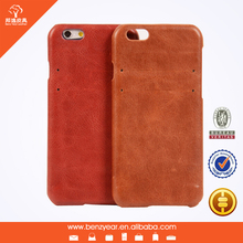 China Supplier New Genuine Leather Phone Cases for i Phone 6 4.7""
