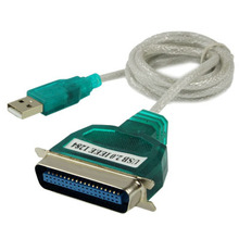 High Quality USB 2.0 to Parallel 1284 36 Pin Printer Adapter Cable, Cable Length: Approx 1m