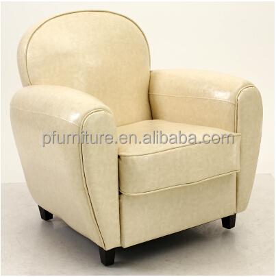 Hot Sell Modern Design Leather 1 Seat Single Sofa Pfs8017