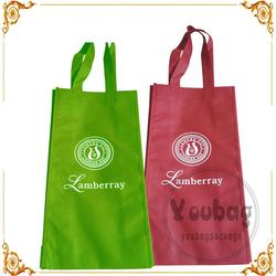 handled colorful non woven bags for shopping