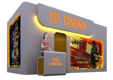 high profitable 5d motion theatre Attractive canbin, 4d cinema equipment