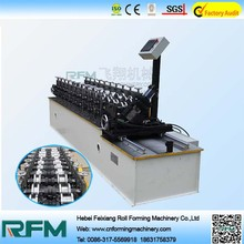 Feixiang roll forming equipments, fully automatic metal door frame making machine