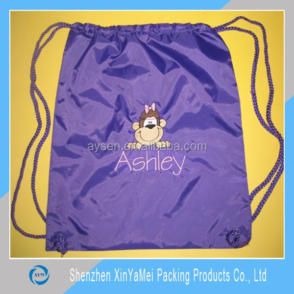 Back packs and Draw String Bags