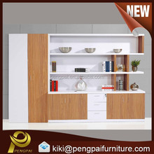MDF modern and wooden filing cabinet with eight doors for company