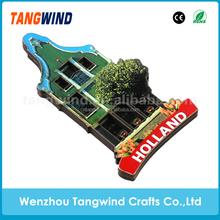 Promotional Wood 3D Fridge Magnet