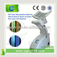 CG-3600 Floor standing type LED light therapy machine PDT equipment Red+Blue+Yellow+Green light