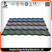Colorful Stone coated metal roofing tile/metal roofing sheet/tile cost