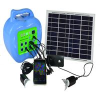 Residential Solar Power Kit Solar Photovoltaic Solar Cell Kit For Camping