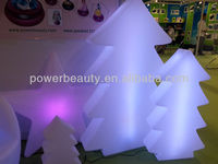 PE hot sale LED plastic Christmas decoration Tree with color changing