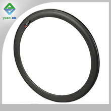 Aero Road Carbon Rims 700C 50mm Road Bike Carbon Rim with Basalt Brake surface high quatily