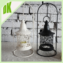 Candle Holder with Moroccan, Boho Hanging Lantern, hanging on string or table top !! handmade heart shape lantern lights