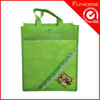 Factory promotion cheap price foldable OEM non woven gift bag