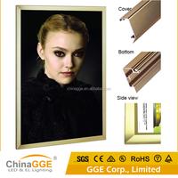 Hot sell delicate slim design a3 battery led aluminum frame light box for advertising