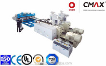 HDPE/PP/PVC Horizontal Type Double Wall Corrugated Pipe Extrusion Line