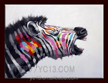 New Original Handmade Animal Oil Painting